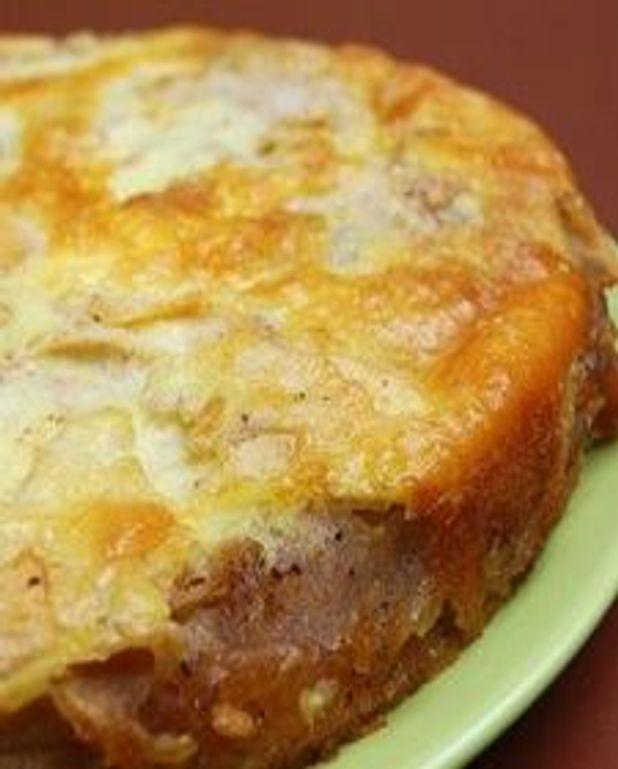 Gâteau aux pommes et à la muscade