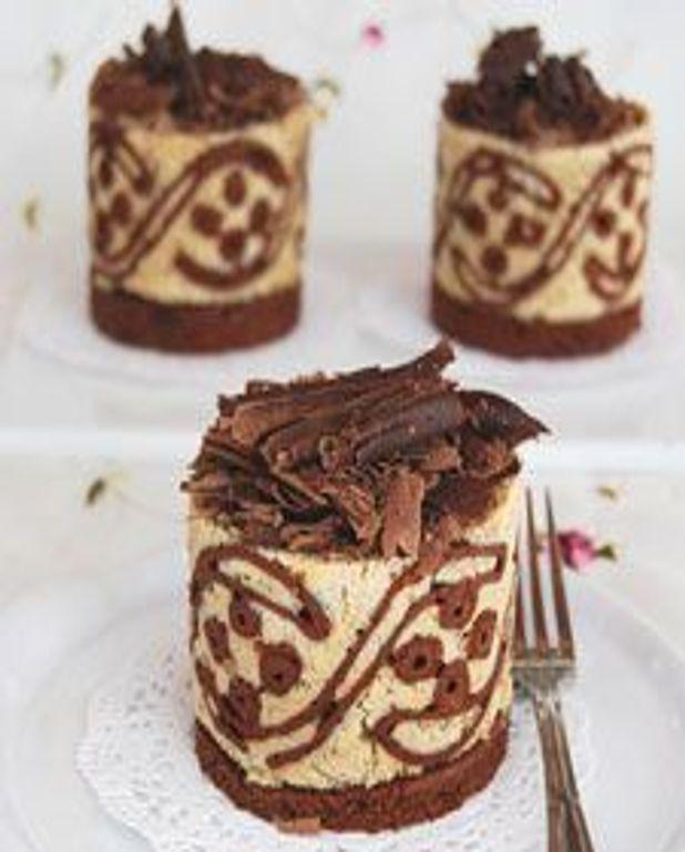 Gâteau mousse à la vanille