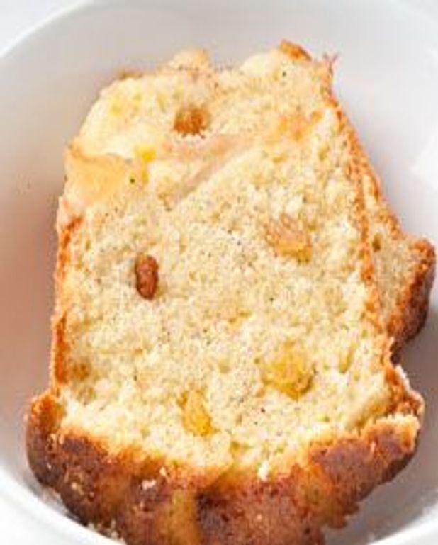 Gâteau poires et cardamome