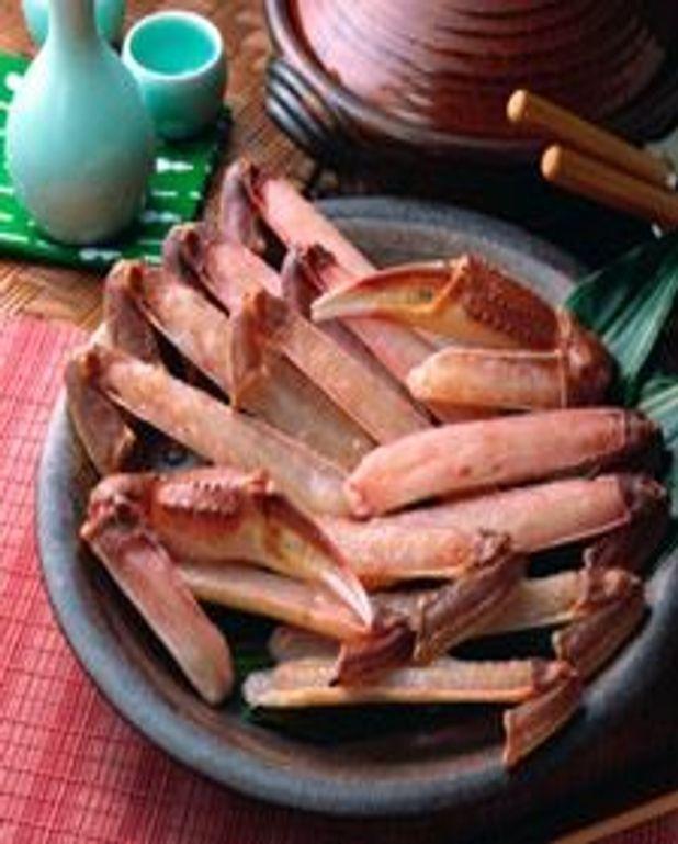 Gratin de crabe flambé au cognac