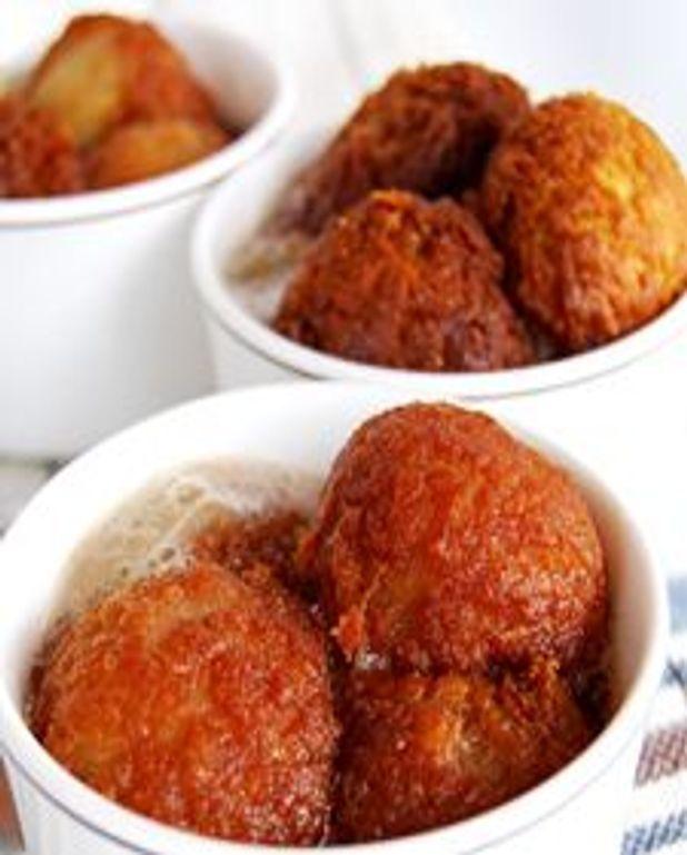 Gulab jamun revisités à la sauce québécoise