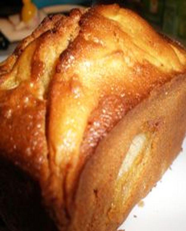 Mini cake aux pommes et chocolat au lait