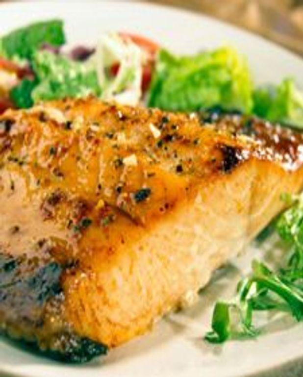 Pavé de saumon au beurre d'amande