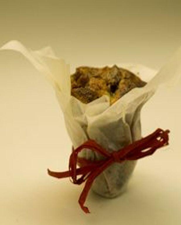 Petits gâteaux au chocolat et aux poires