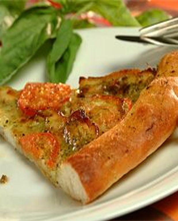 Pizza au poulet grillé et fromage Mozzarina