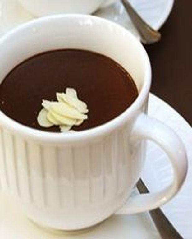 Pots de crème au chocolat et à la canelle