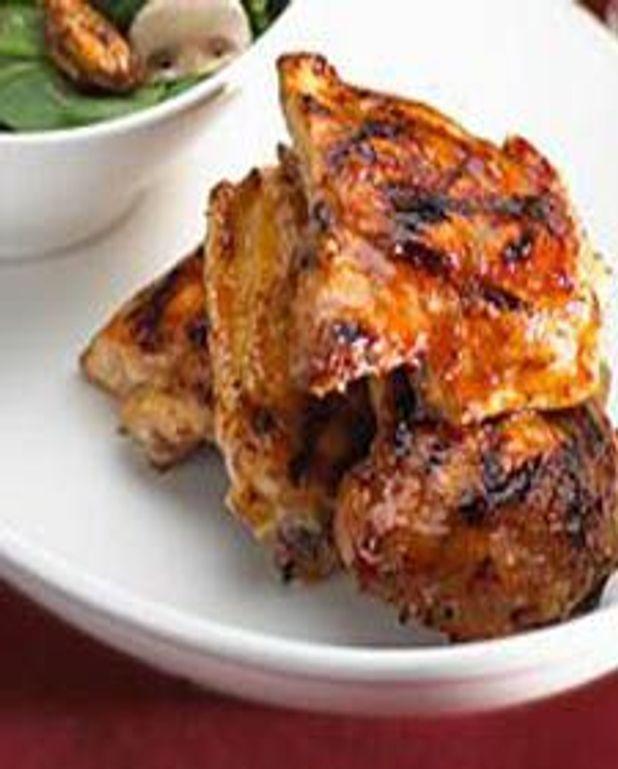 Poulet grillé BBQ à l'érable