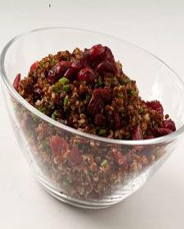 Quinoa rouges aux canneberges