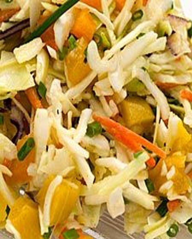 Salade de chou fruitée