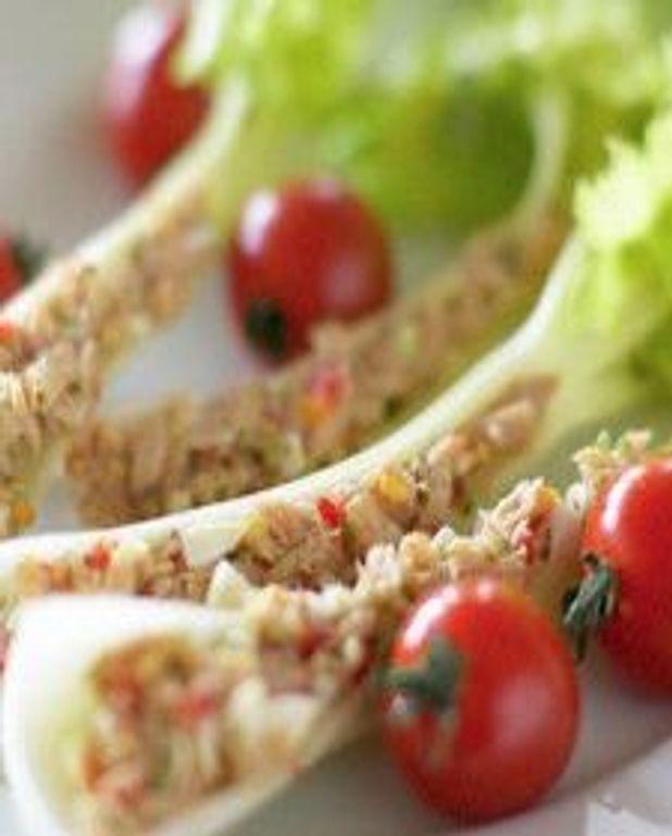 Salade de thon croquante