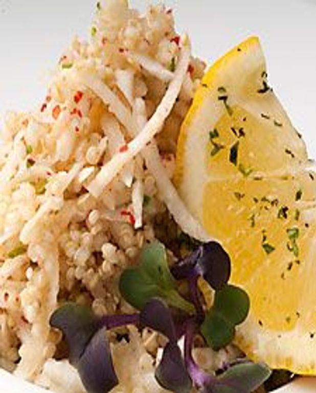 Salade quinoa et céleri rave