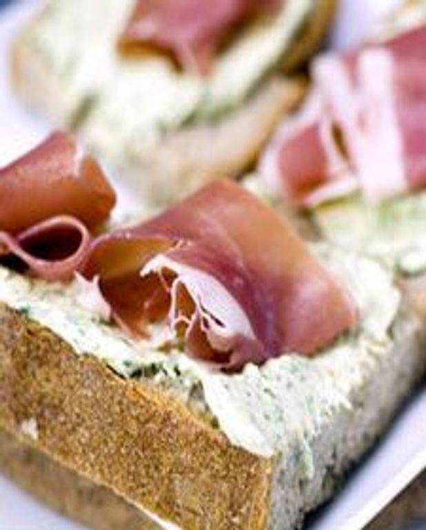 Sandwich club à l'italienne