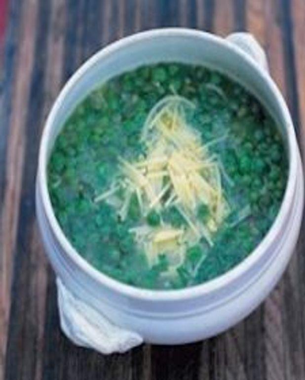 Soupe aux pois d'Altamura (Minestra di Piselli di Altamura)