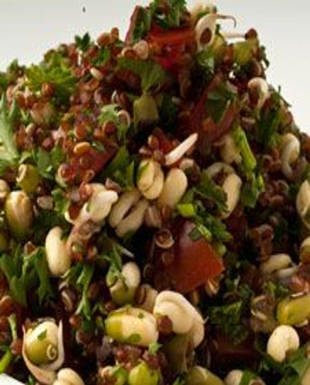 Taboulé et quinoa