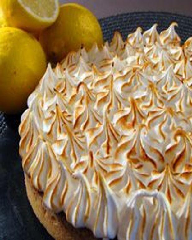 Tarte au citron et meringue