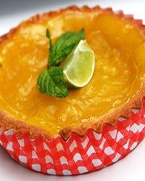 Tartelettes sablées à la key lime
