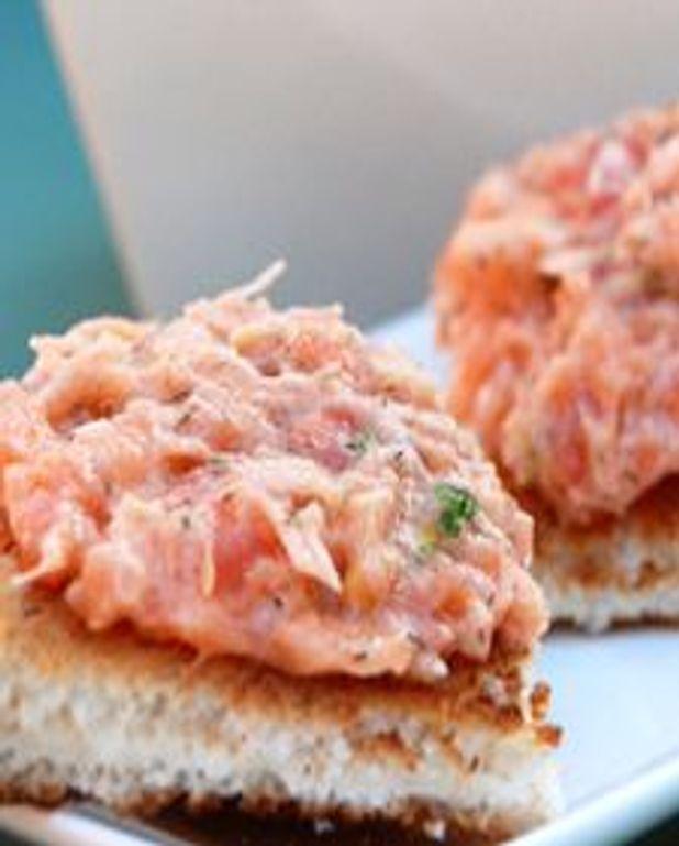 Tartinade aux deux saumons
