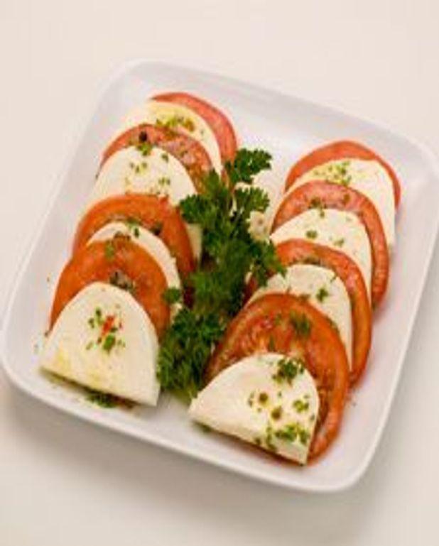 Tomate et mozzarella fraiche