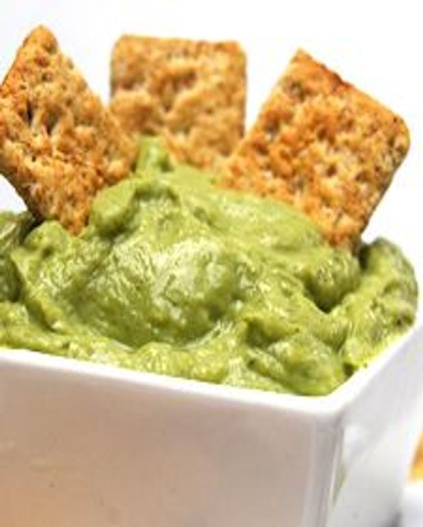 Trempette au brocoli et au wasabi