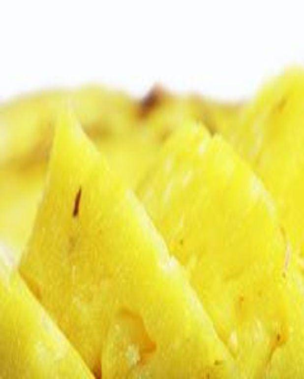 Ananas des îles au poisson