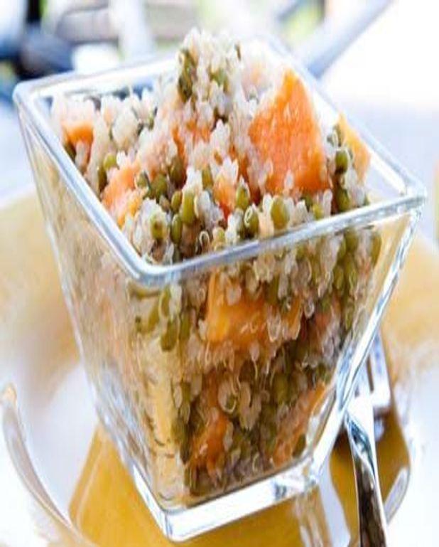 Blé concassé aux carottes