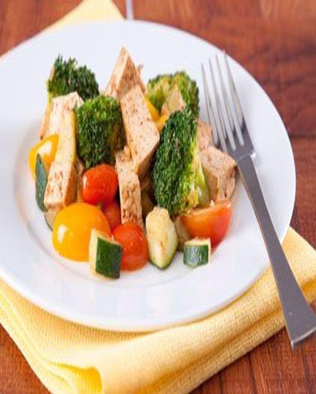 Brocolis au tofu