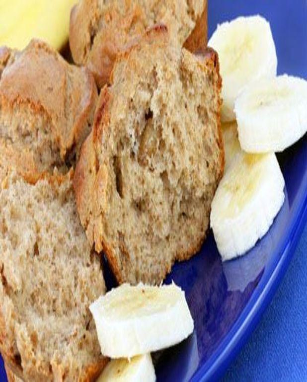 Cake à la banane et à la vanille