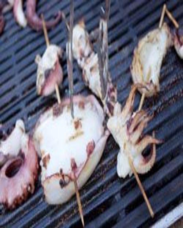 Calamars à la plancha