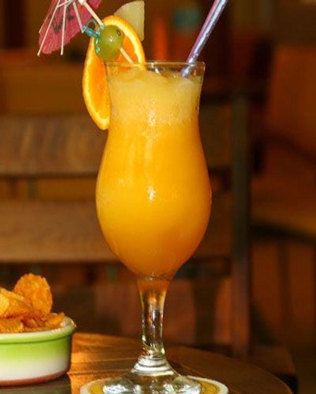 Cocktail ananas-orange