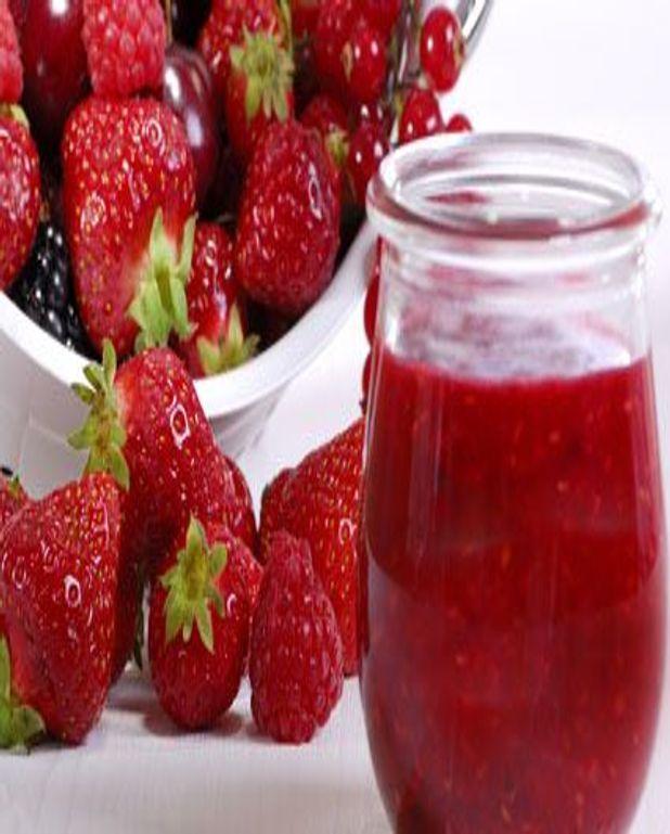 confiture de fraise sans citron