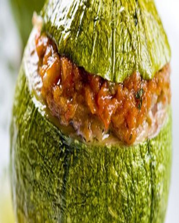 Courgettes farcies gourmandes