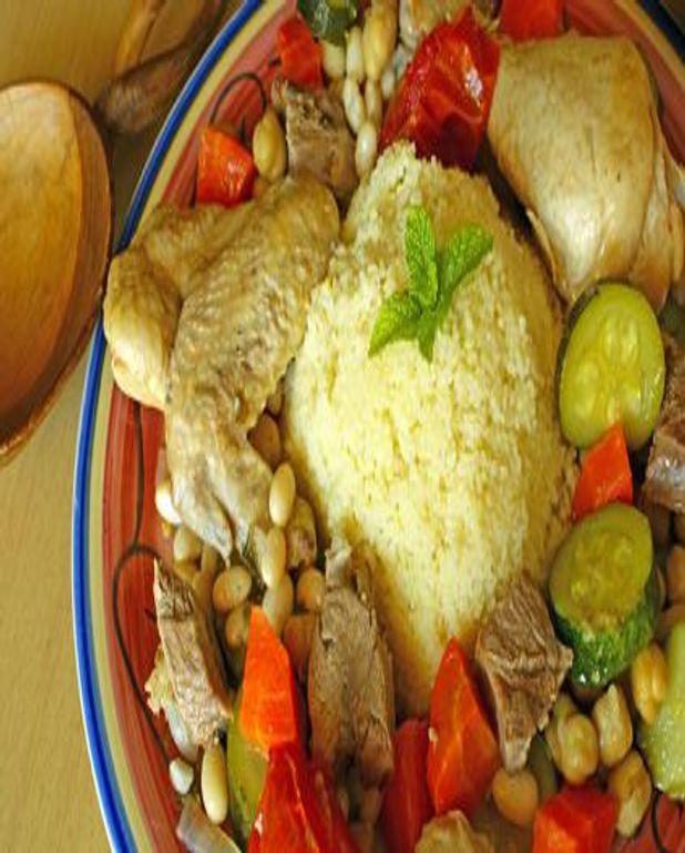 Couscous mouton et poule