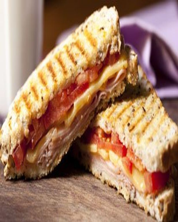 Croque tomates jambon fromage