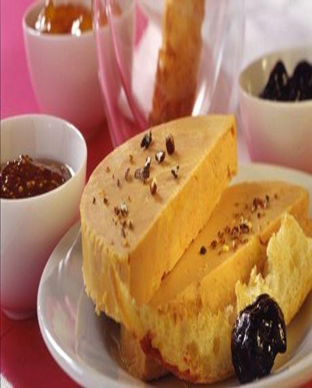 Foie Gras aux 3 compotées et mouillettes toastées