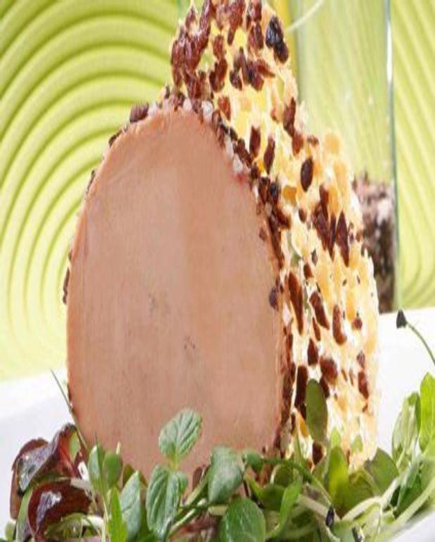 Foie Gras de Canard aux Éclats de Fève de Cacao