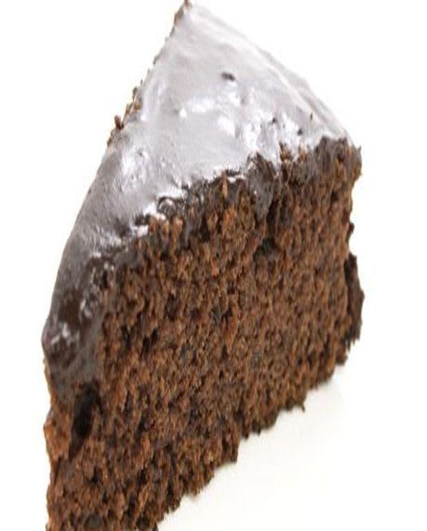 Gâteau au chocolat mi-amer
