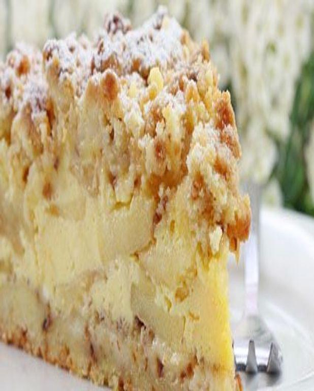 Gâteau de pommes au yaourt