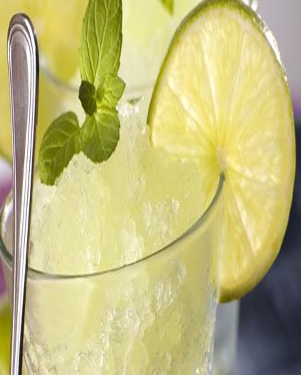 Granité vodka citron