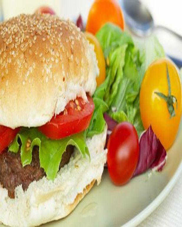 Hamburger à l'agneau