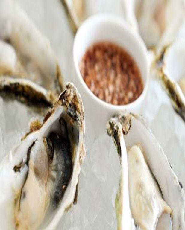Huîtres aux échalotes