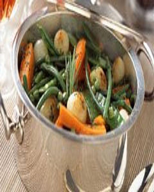 Jardinière de petits légumes