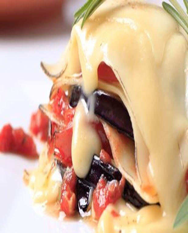 Lasagne aux courgettes et aux aubergines