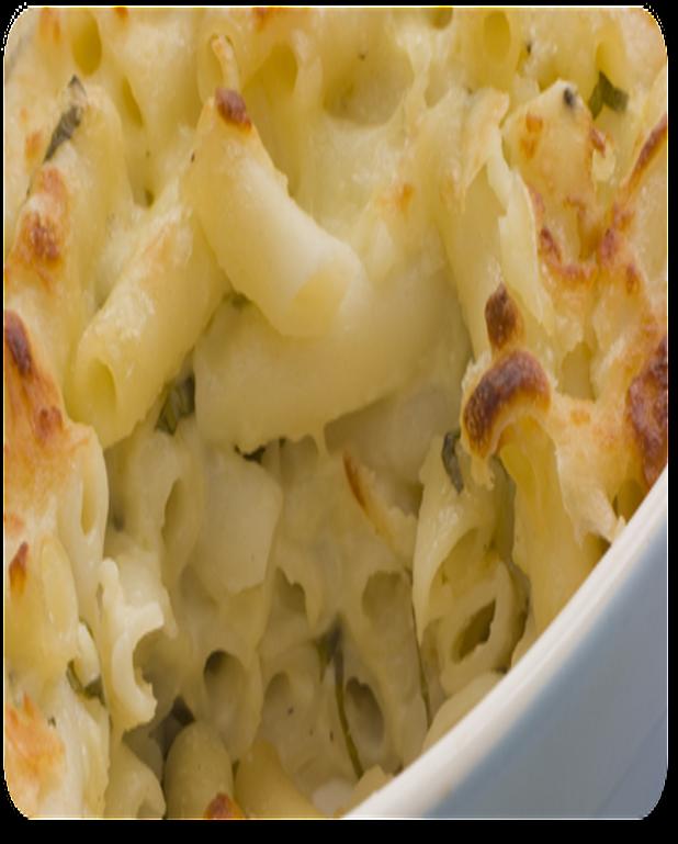 Macaronis en gratin