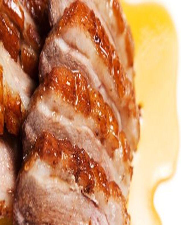Magrets de canard laqués au miel