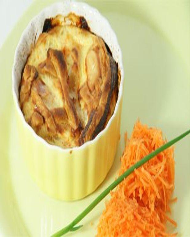 Mini-quiches céleri carotte