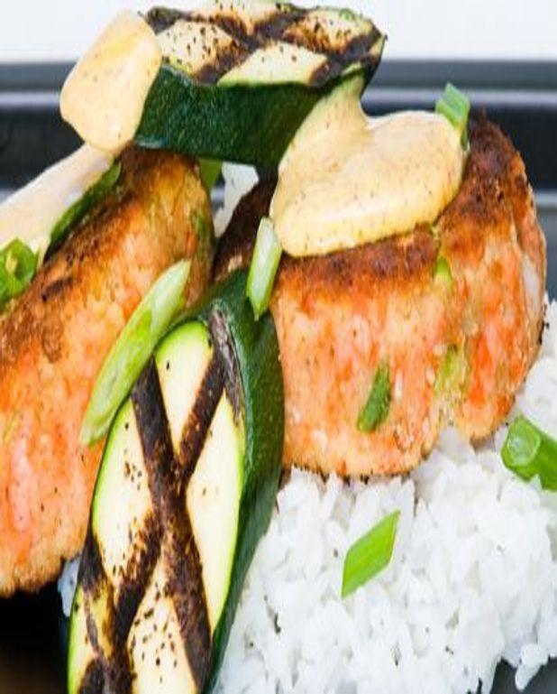 Moelleux de sandre et saumon sur crème d'artichaut