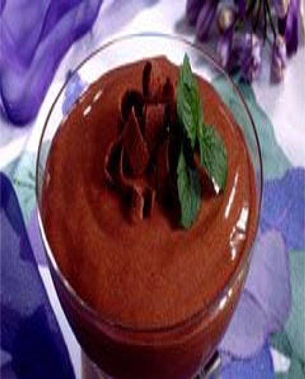 Mousse au chocolat à la faisselle