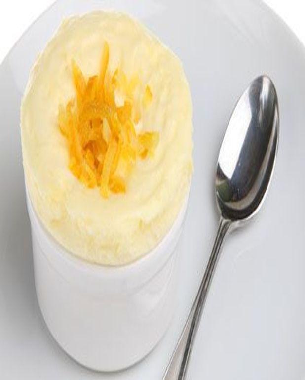 Mousse glacée à la mandarine