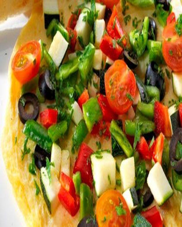 Omelette Arc-en-ciel