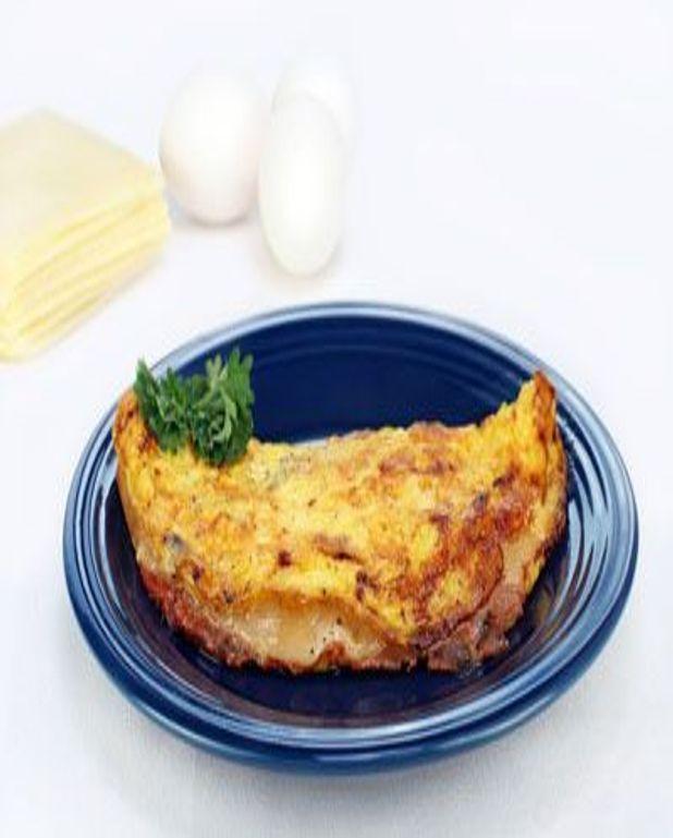 Omelette au comté